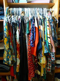 cloths on plastic hanger overstock gondola